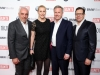 Hans-Reiner Schröder / BMW, Christian Wulff / Bundespräsident a.D. und Ehefrau Bettina Wulff, Robert Pölzer (Chefredakteur BUNTE) 68. Berlinale - Bunte & BMW Festival Night 2018 im Restaurant Gendarmerie in Berlin am 16.02.2018 Foto: BrauerPhotos / M.Nass fuer Hubert Burda Media