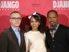 Christoph Waltz, Kerry Washington und Jamie Foxx  © 2013 Sony Pictures Releasing GmbH
