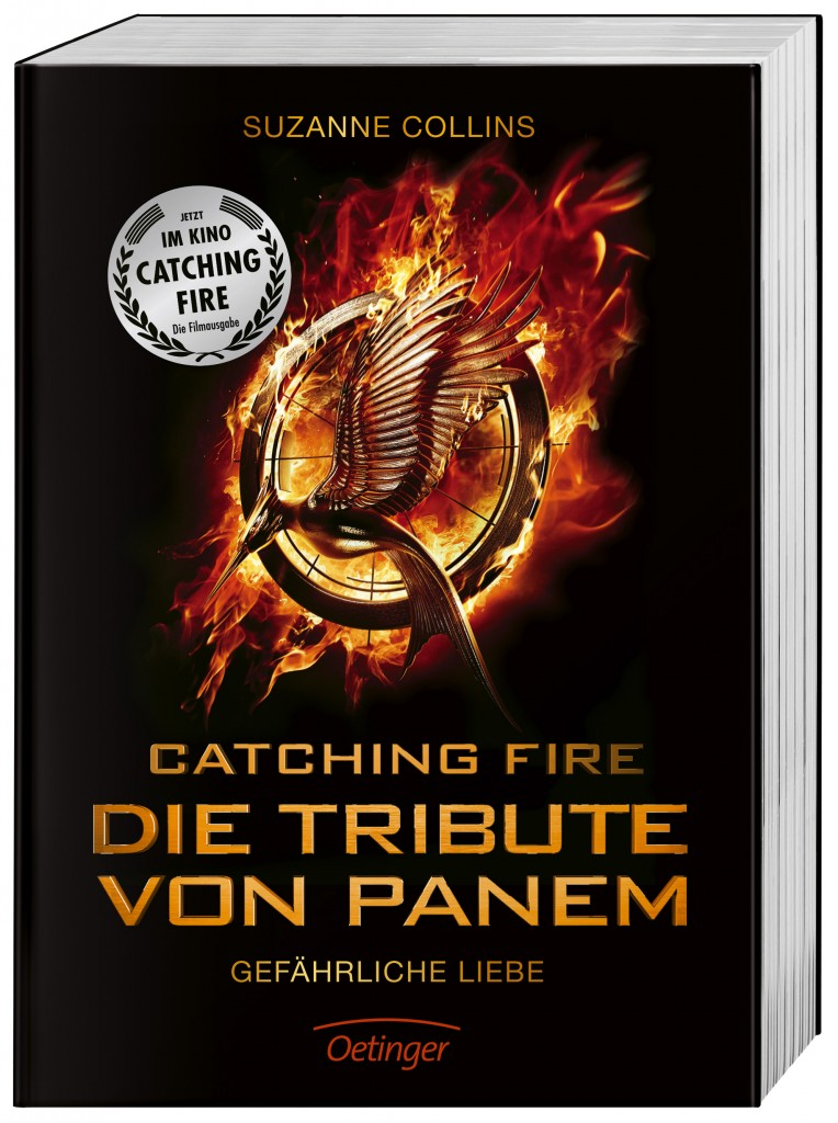 CATCHING FIRE - Film Edition Buch