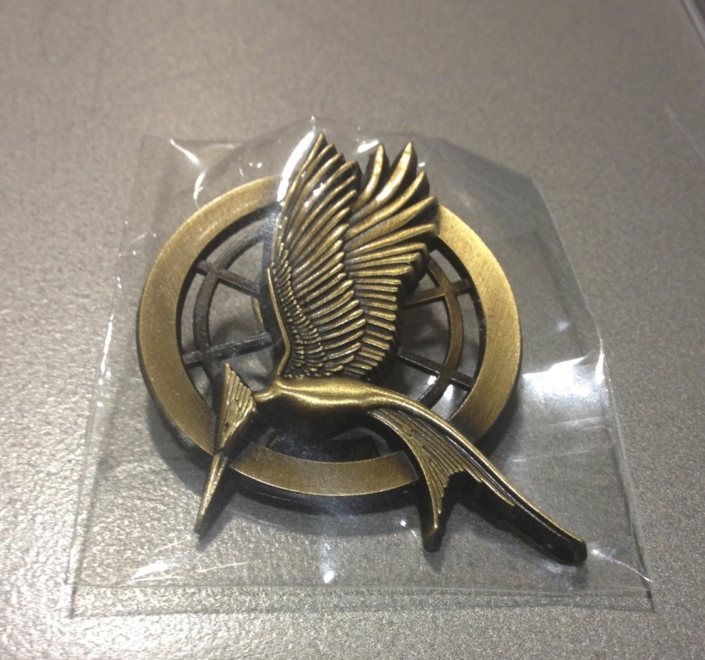 CATCHING FIRE - Mockingjay-Pin