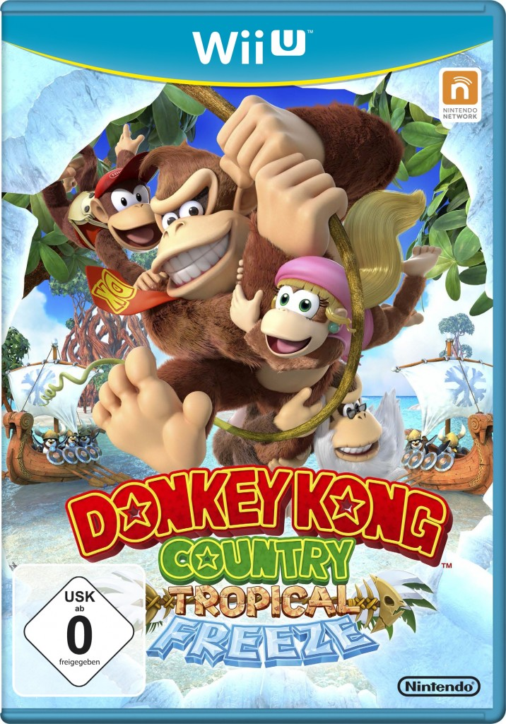 WiiU_Donkey Kong Country Tropical Freeze_Packshot_USK