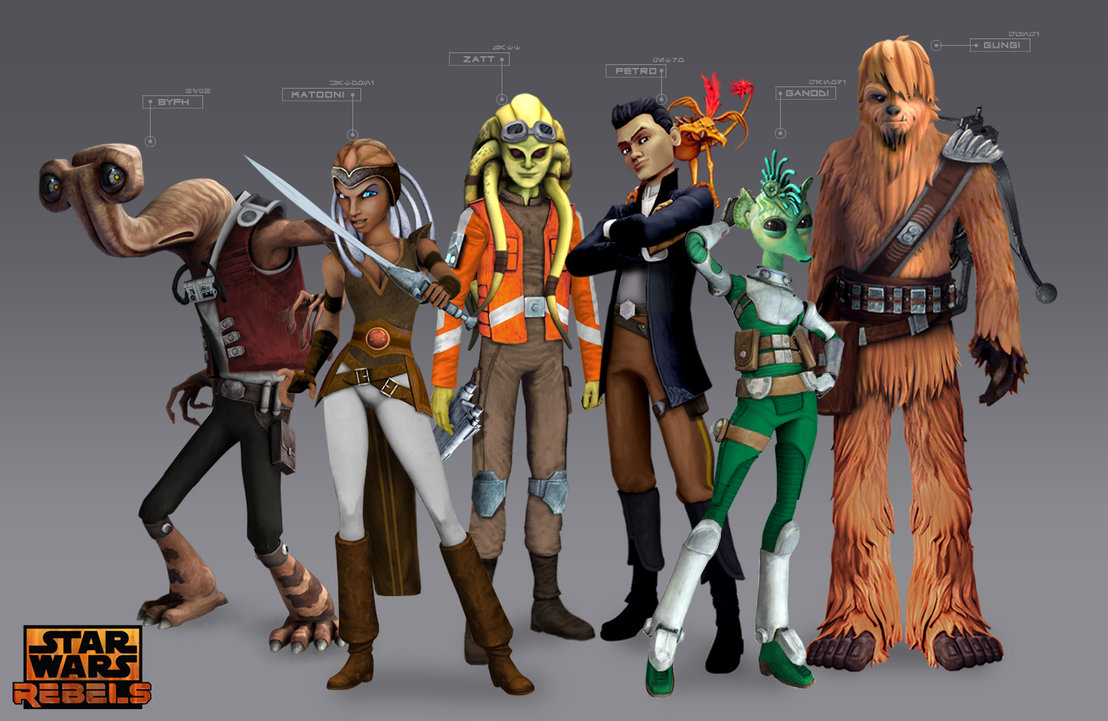 Star wars rebels kinotour