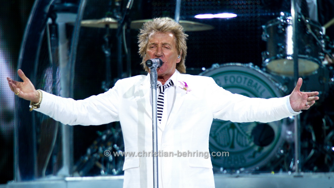 ROD STEWART, Concert at the o2 world in Berlin,  24.06.2014
