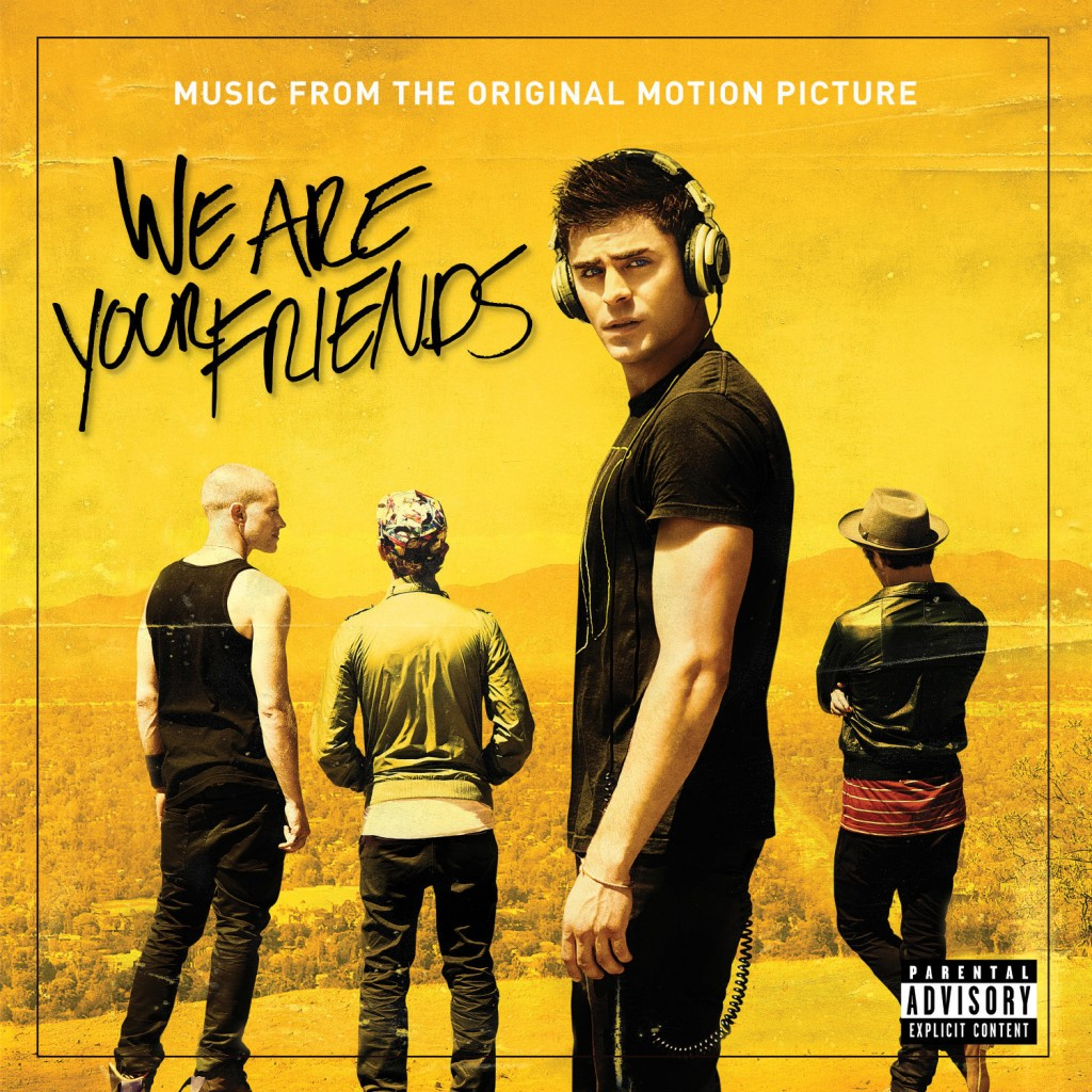 We Are Your Friends - Music From The Original Motion Picture (PRNewsFoto/Interscope Records)
