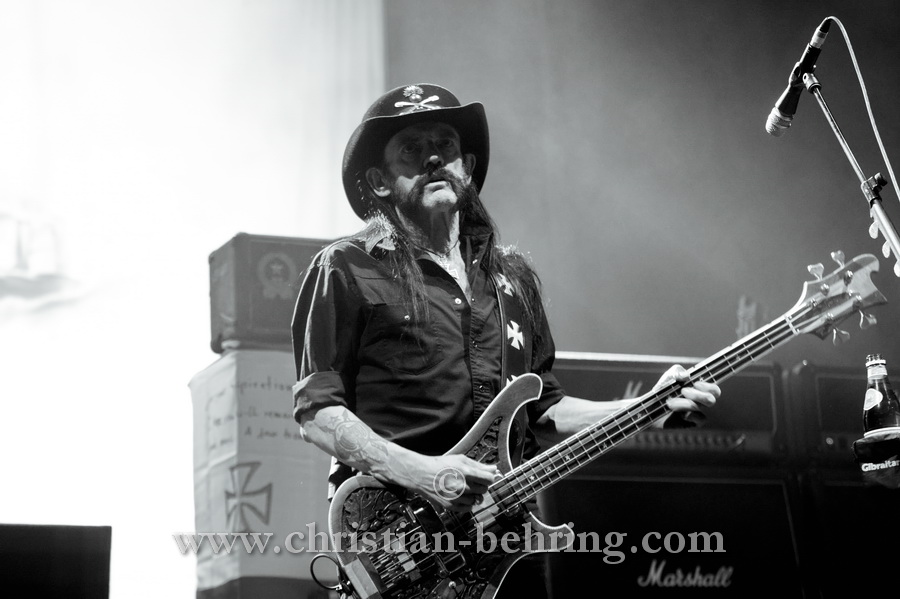 "Lemmy, ""MOTORHEAD"", Konzert in der Max-Schmeling-Halle, Berlin, 16.11.2014 (Photo: Christian Behring)"