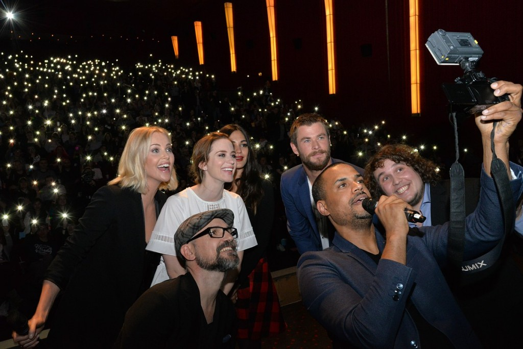 Social Movie Night 'The Huntsman & The Ice Queen' im Cinemaxx in Hamburg am 29.03.2016