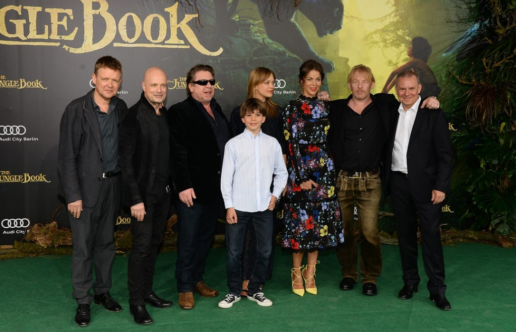 THE JUNGLE BOOK Deutschlandpremiere in Berlin