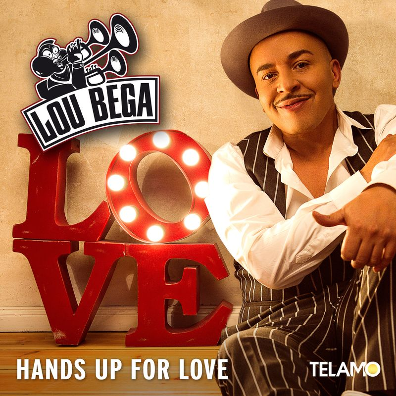 Cover Lou Bega Single Hands Up For Love