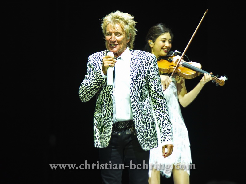 """ROD STEWART"", Konzert in der Mercedes-Benz-Arena, Berlin, 31.05.2016"