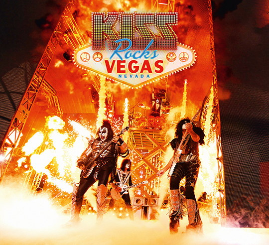 Kiss Rocks Vegas German DVD+CD cover