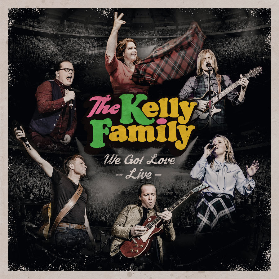 The Kelly Family, Live_CD_Cover