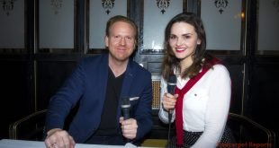 "Daniel HOPE, Photocall und Interview zum neuen Album ""Journey To Mozart"" (veroeffentlicht am 09.02.2018) mit Teresa Hoerl fuer Redcarpet Reports, Restaurant GROSZ, Berlin, 13.02.2018"